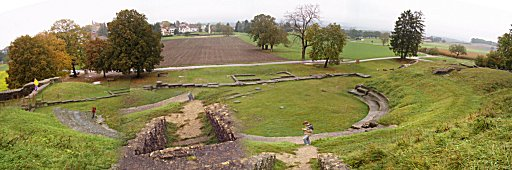Roman Theatre at Aventicum (Avenches, western Switzerland)