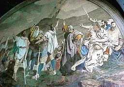 The oath of the confederates on Rütli 