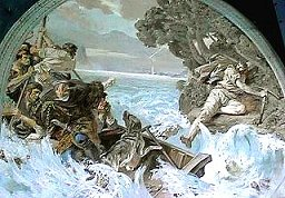 William Tell escapes from bailiff's boat