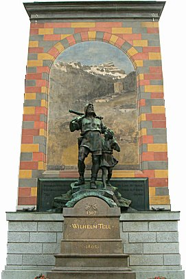Monument for William Tell
